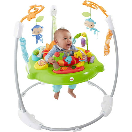 e50abf40b Fisher-Price Roarin  Rainforest Jumperoo - Walmart.com