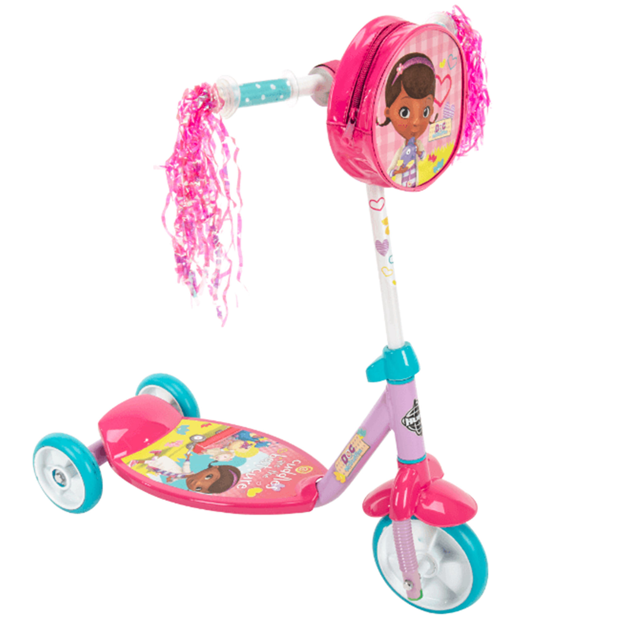 Disney Doc McStuffins Preschool Girls' 3-Wheel Scooter, by Huffy