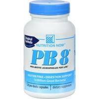 Nutrition Now PB 8 Pro-Biotic Acidophilus For Life Capsules, 120 Ct