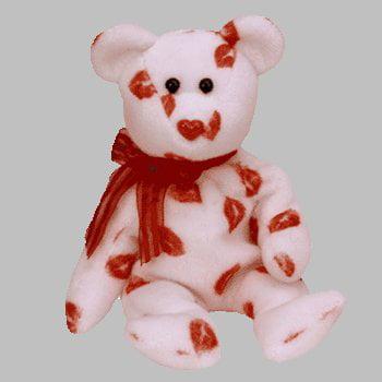 TY Beanie Baby - the Kisses Bear, TY Beanie Baby - SMOOCH the Kisses Bear By Smooch Ship from - Build A Bear Halloween Sale