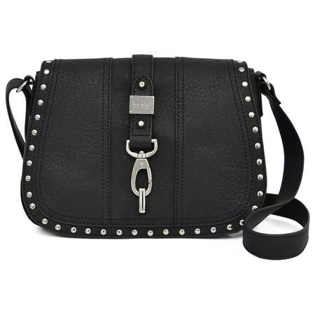 Nicole Miller New York Black Barlow Saddle Handbag Nicole Miller Bras