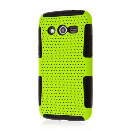Samsung Galaxy Avant Case, MPERO FUSION M Series Protective Case - Neon Green](Lower Case M)