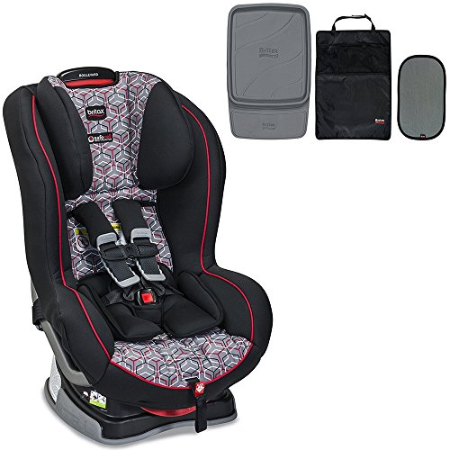 Britax Boulevard G4.1 Convertible Car Seat & Accessory Pack Bundle, Baxter