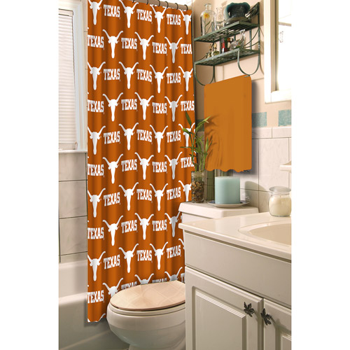 University of Texas Decorative Bath Collection - Shower Curtain