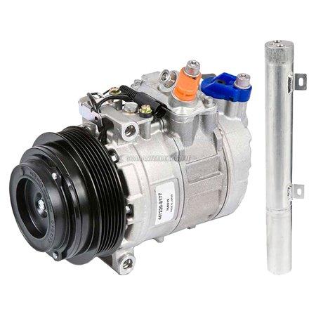 (OEM AC Compressor w/ A/C Drier For Mercedes-Benz E320 2003)