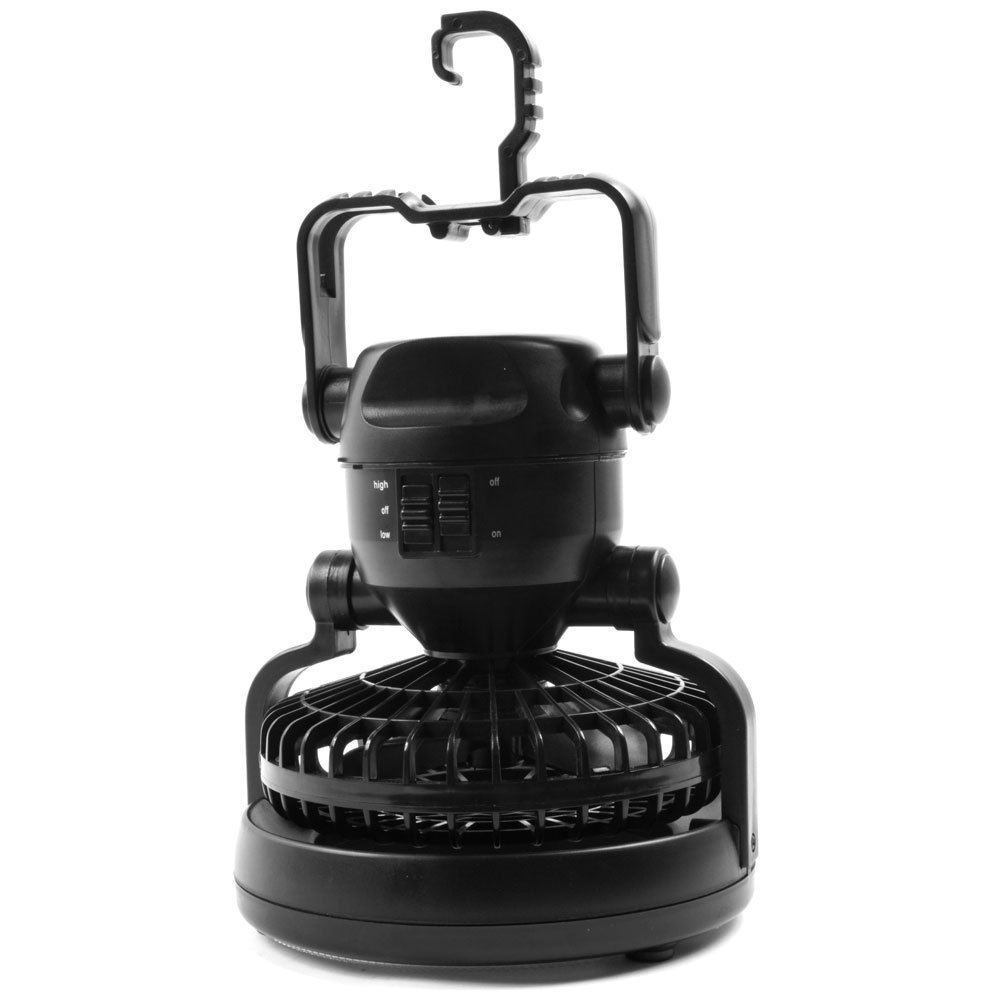 IMage Portable LED Camping Lantern with Ceiling Fan, Fast shipping,Brand Yum Lures by