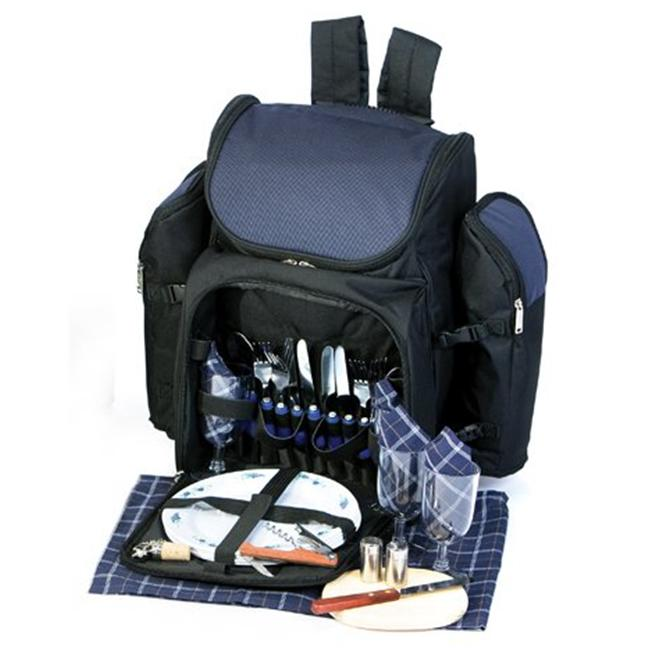 Picnic Plus PS4-458N Tandor Picnic Backpack - Navy