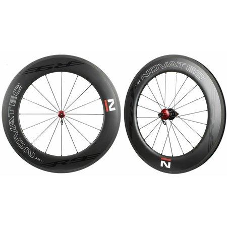 NOVATEC Road R9 Clincher Carbon Wheelset For SHIMANO SRAM CAMPY 8-11s