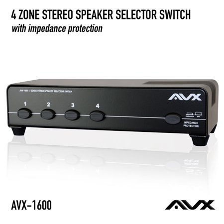 4 Zone Audio (4 Zone Stereo Speaker Selector Switch )