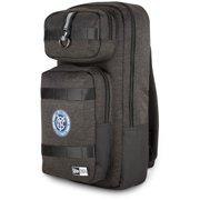 New York City FC New Era Slim Tech Backpack - Heathered Black
