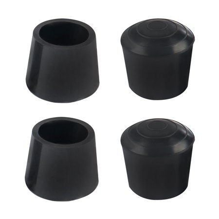 "Rubber Leg Cap Tip Cup Feet Cover 20mm 3/4"" Inner Dia 4pcs for Furniture Chair - image 7 of 7"