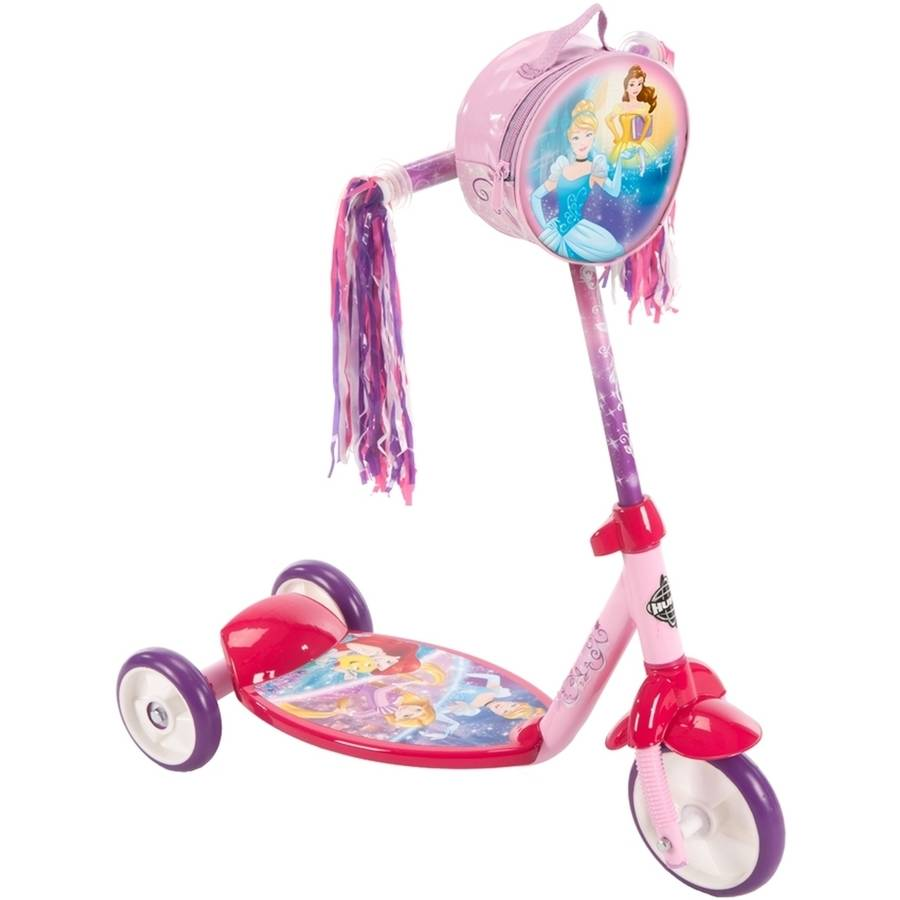 Disney Princess Girls' 3-Wheel Pink Scooter, by Huffy®
