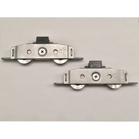 Tuscany & Classic Series (Standard/Narrow Rail) Sliding Patio Door Wheels, Sold As A Pair, OEM Milgard Parts By