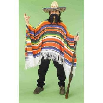 MEXICAN SERAPE - Disfraz Halloween Mexico