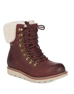 NEW IN THE BOX ROYAL CANADIAN BURGUNDY LETHBRIDGE WINTER BOOTS FOR WOMEN