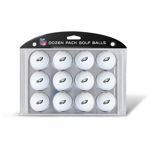 Team Golf NFL Philadelphia Eagles Golf Balls, 12 Pack