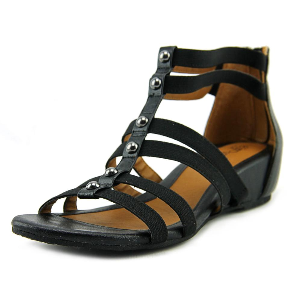 Click here to buy Eurosoft by Sofft Rayelle Women Open Toe Canvas Black Gladiator Sandal by Eurosoft by Sofft.
