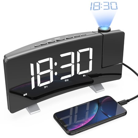 Projection Alarm Clock,7