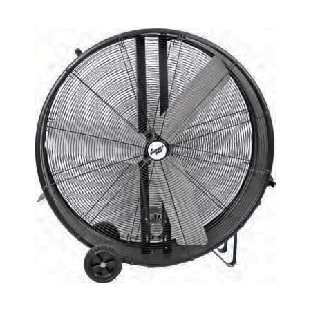 Comfort Zone Industrial 42'' Barrel Fan with Direct - Direct Drive Barrel Fan