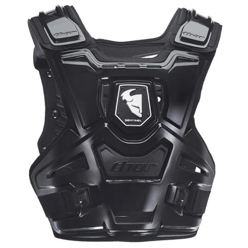 Thor Sentinel 2014 Chest Roost Protector Deflector Black