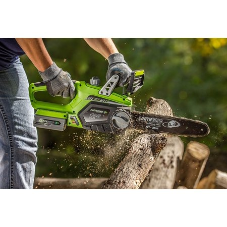 Earthwise lcs32412 12 24 volt lithium ion cordless electric chain earthwise lcs32412 12 24 volt lithium ion cordless electric chain saw battery and charger included walmart greentooth Image collections