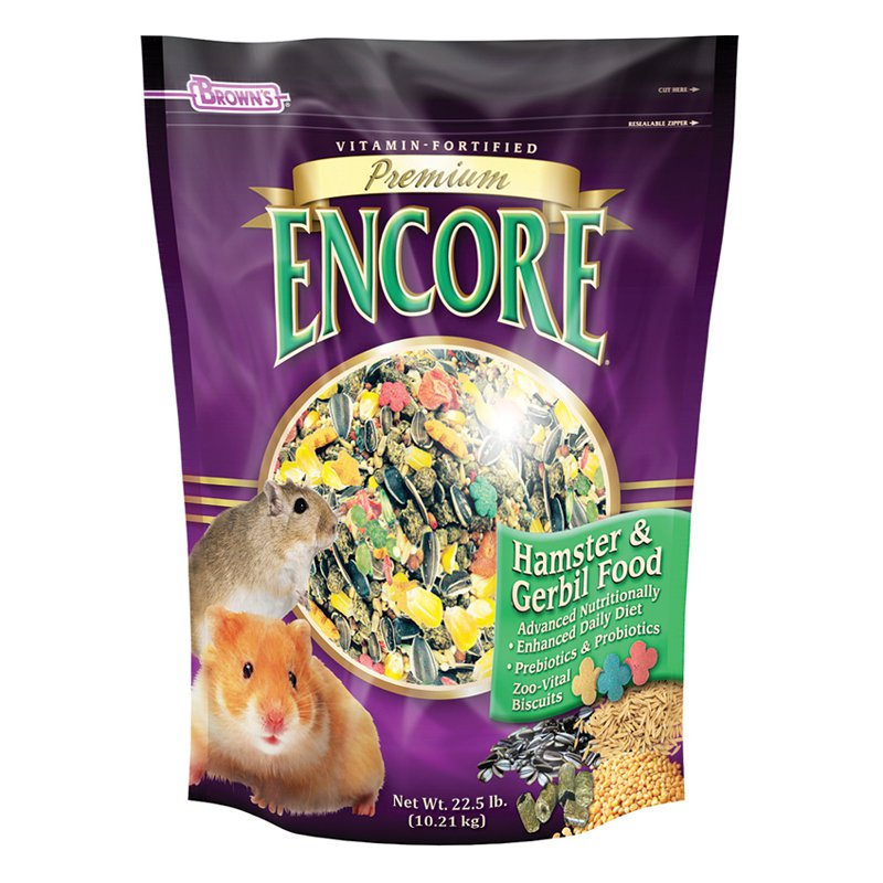 Encore Hamster Food 22.5 lb. by F.M. Browns Inc - Pet