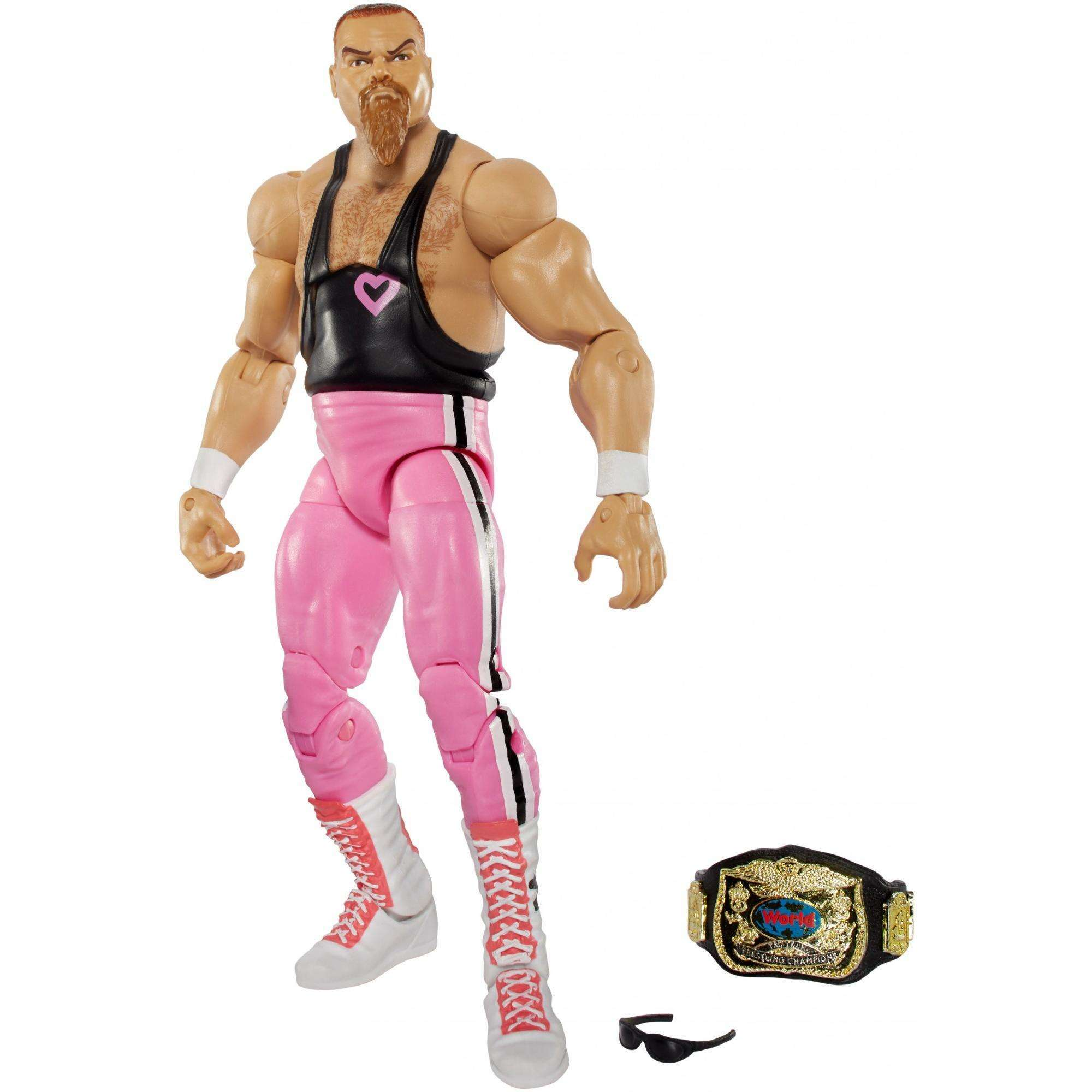 WWE Elite Jim Neidhart Action Figure