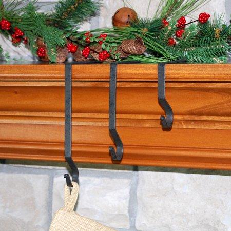stocking hangers set of 6. Black Bedroom Furniture Sets. Home Design Ideas