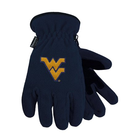 West Virginia University Heavy-Weight Fleece Gloves (West Virginia University Halloween)