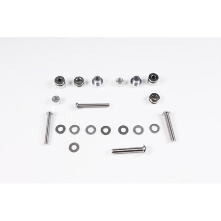 EDGE LEATHER Hardware for Detachable Saddlebag   #020162 (Detachable Leather Saddlebags)