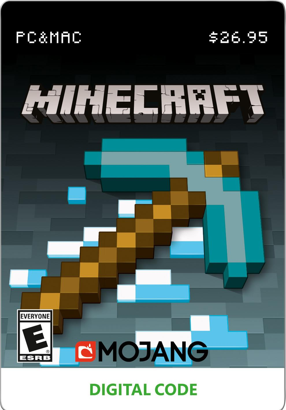 Minecraft, PC, [Digital Download], 799366446057 by INTERACTIVE COMMUNICATIONS