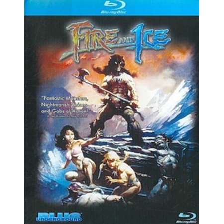 Fire And Ice (Blu-ray) - Fire And Ice Halloween Movie