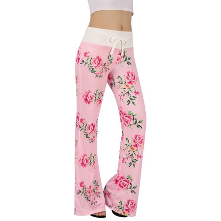 7c7dda6341 HDE - HDE Womens Cotton Pajama Pants Wide Leg Sleepwear Casual Loose Lounge  PJ Bottoms - Walmart.com
