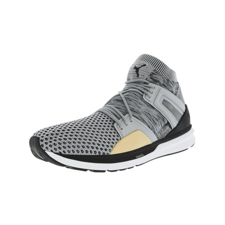 Puma Men's B.O.G. Limit Grey / White Ankle-High Running Shoe - 10M (Puma Running Shoes 2014)