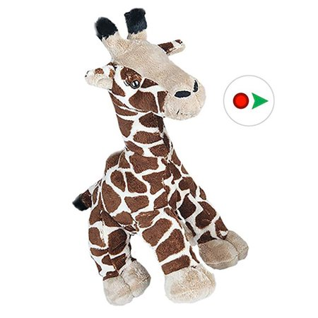 record your own plush 8 inch giraffe - ready 2 love in a few easy steps