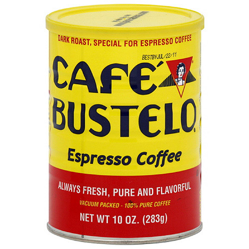 Cafe Bustelo Espresso Ground Coffee, 10 oz (Pack of 12)