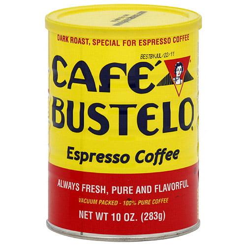 Cafe Bustelo Espresso Ground Coffee, 10 oz (Pack of 12)