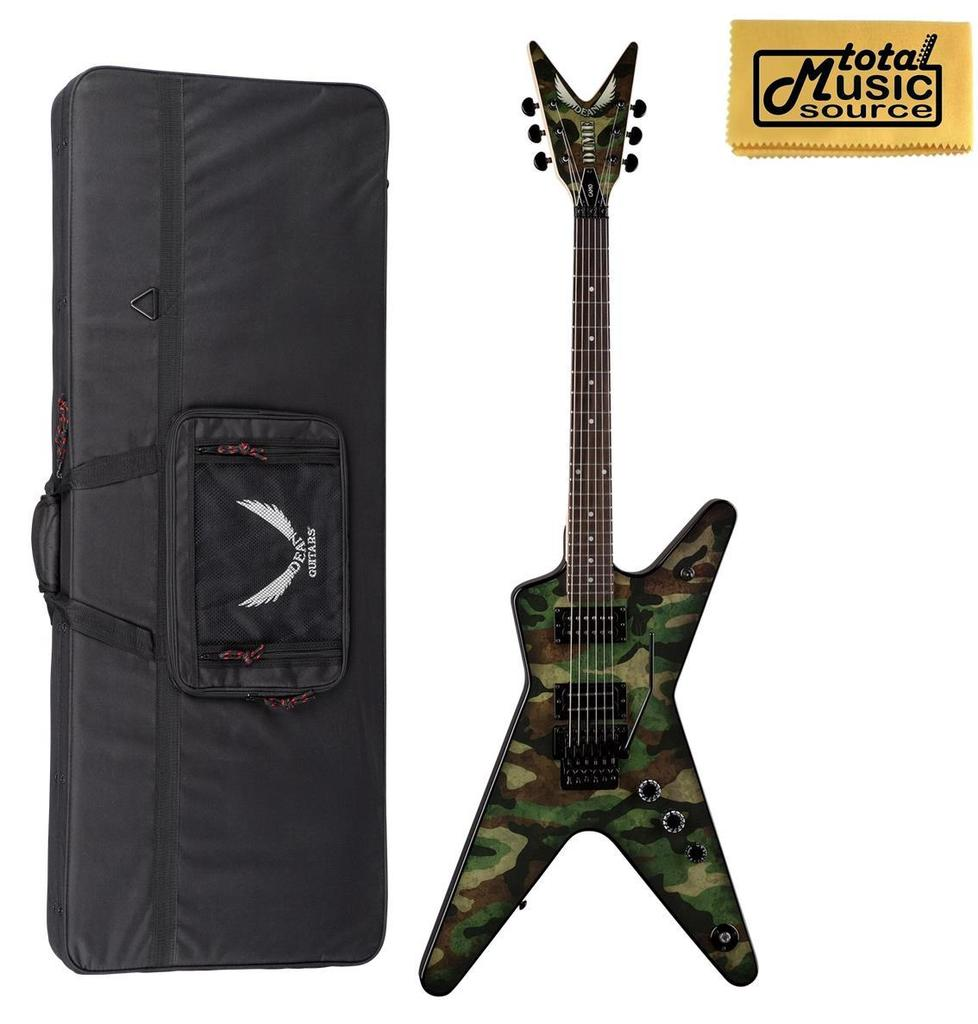 Dean DimeBag Camo ML Electric Guitar, Floyd Rose, FREE CASE ,DB CAMO F CASE by Dean
