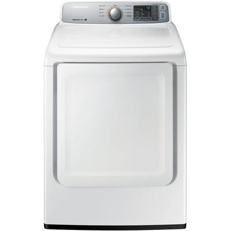 Samsung DV7000 - Dryer - freestanding - width: 27 in - depth: 30 in - height: 38.7 in - front loading - white