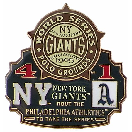 Commemorative Pin Set (1905 World Series Commemorative Pin - Giants vs. Athletics )