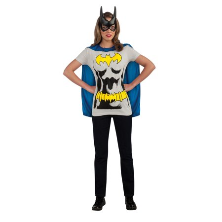Womens Batgirl Sexy Shirt](Superhero Yellow And Blue Costume)