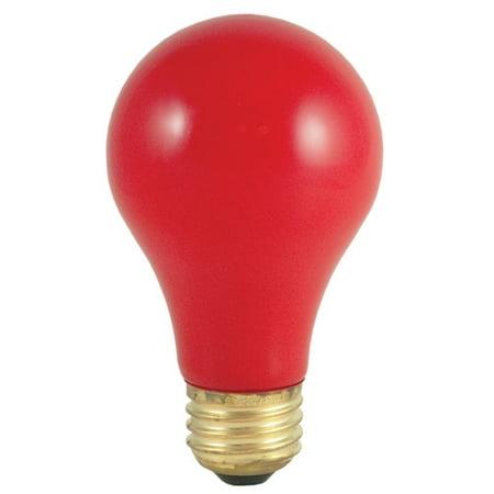 Bulbrite Industries Red 120-Volt Incandescent Light Bulb (Set of