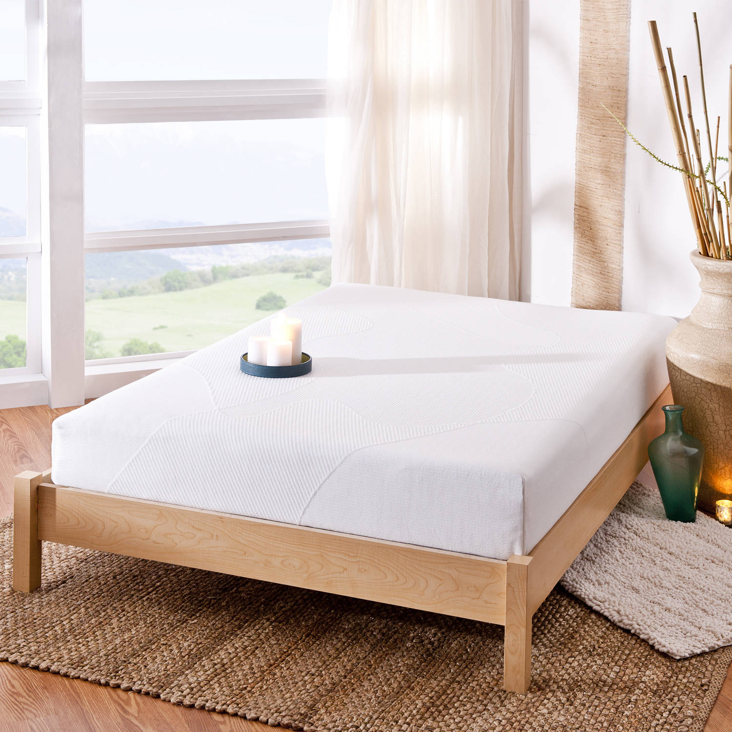 "Spa Sensations 8"" Memory Foam Mattress, Multiple Sizes"