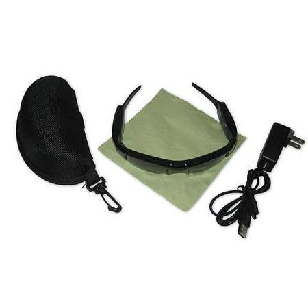 Colored Digital Video Audio Recorder Sports Sunglasses w/ MicroSD Slot