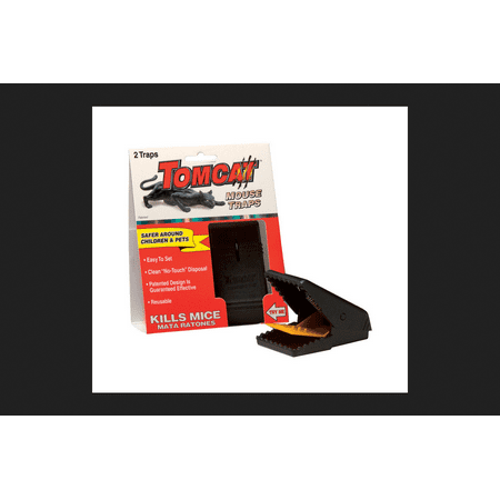 Tomcat Small Snap Animal Trap For Mice 2 (F-14 Tomcat Snap)