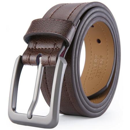 Gallery Seven Leather Belts For Men, Classic Jean Belt, Mens Casual Belt 1.5