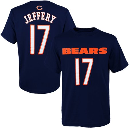 Youth Navy Blue Player - Alshon Jeffery Chicago Bears Youth Primary Gear Player Name & Number T-Shirt - Navy Blue