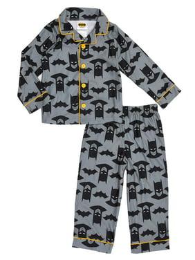 Coat Style Pajama, 2pc Set (Toddler Boys)