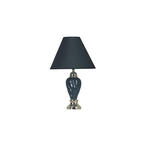 00ORE6116BK Ceramic Table Lamp - Black