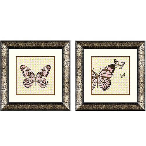 Butterfly Wall Décor, Set of 2